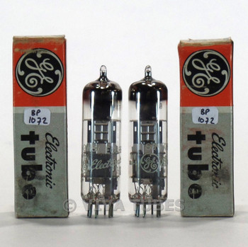 True NOS NIB Date Matched Pair Siemens Germany 6GW8/ECL86 3 Mica Tubes