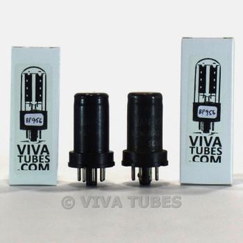 Tests NOS Matched Pair Ken-Rad USA JAN-CKR-6J5/VT-94 Metal Rust Vacuum Tubes