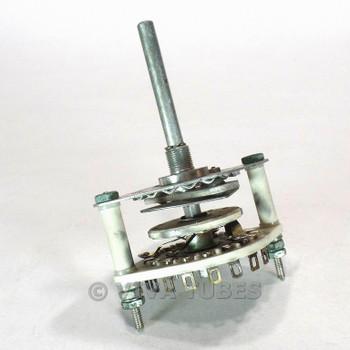 Vintage CRL JV9003 Rotary Switch 3 POL 2-5 POS