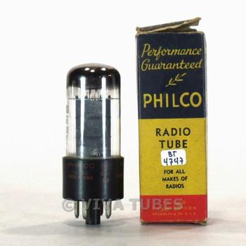 True NOS NIB Philco USA 6K6GT Grey Box Plate Top [] Get Vacuum Tube