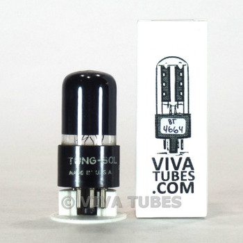 Tests NOS Vintage Tung-Sol USA 6K6GT Black Plate [] Get Smoked Vacuum Tube