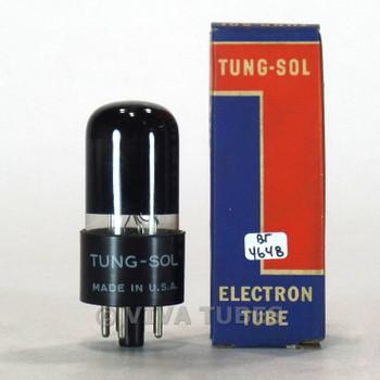 True NOS NIB Vintage Tung-Sol USA 6K6GT Grey Round Plate [] Get Smoked Tube