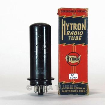 True NOS NIB CBS Hytron USA 6L6 Metal Vacuum Tube