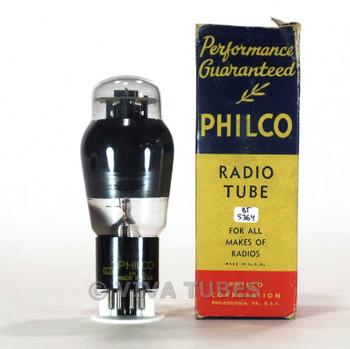 True NOS NIB Philco USA 6L6G Black Plate [] Get Smoked Vacuum Tube