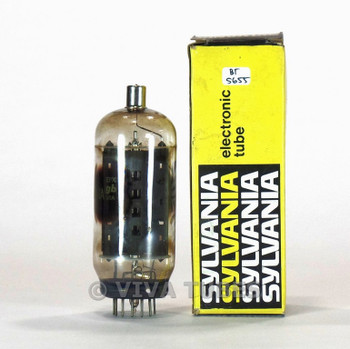 TESTS MARGINAL/ BAD Sylvania USA 6LB6 Grey Plate Vacuum Tube 65%