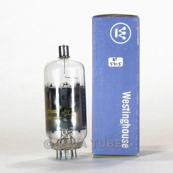True NOS NIB Westinghouse USA 6ME6 Grey Plate 2 Side O Get Vacuum Tube