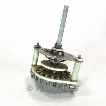 Vintage CRL JV9001 Rotary Switch 1 POL 2-17 POS