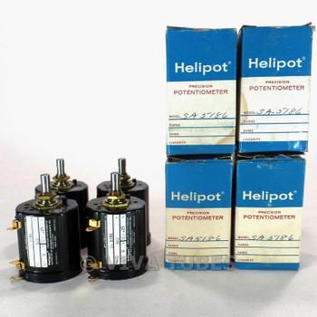 NOS NIB Vintage Lot of 4 Helipot Model SA5186 Precision Potentiometer 500ohm