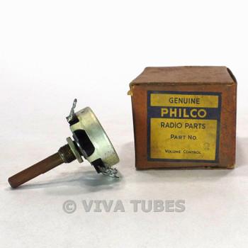 NOS NIB Vintage Philco 33-5408 Potentiometer Date Code 0264