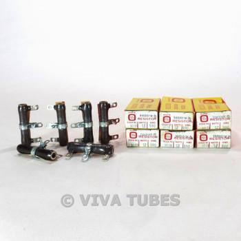 NIB Lot 6x Ohmite 1019 Adjustable Variable Rheostat Resistors 12 Watt 500 ohm