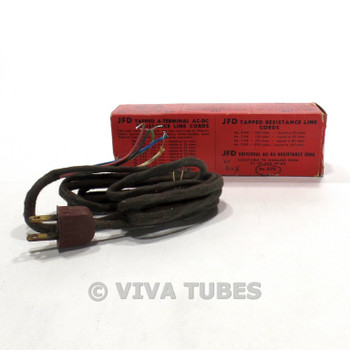 NOS NIB JFD 2175 Universal AC-DC Resistance Cord Adjustable Ohmages 22-330 ohm