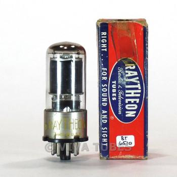 True NOS NIB Raytheon USA 6SD7GT Black Plate [] Get Vacuum Tube 100+%