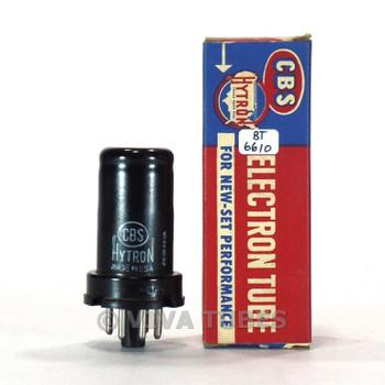 True NOS NIB CBS Hytron USA 6FS5 Metal Vacuum Tube 100+%