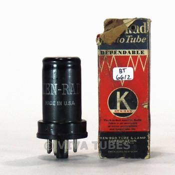 True NOS NIB Ken-Rad USA 6SF5 Metal Vacuum Tube 100+%