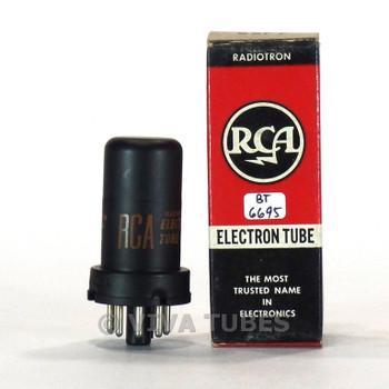 True NOS NIB RCA USA 6SF7 Metal Vacuum Tube 100+%