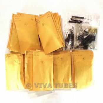 Vintage Lot of Approx 116 Unknown Carbon/Film Resistors 2 Watt
