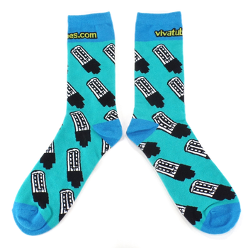 Matched Pair of Tube Socks