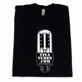 Viva Tubes Logo T-Shirt (Black)