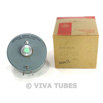 NOS NIB General Radio Co. Type 975-N P Precision Potentiometer 10K 10000 ohm