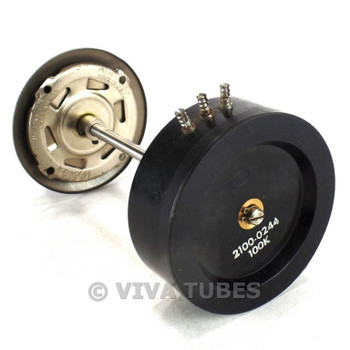 Vintage National Dial & Paeco Attenuator/Potentiometer For Antique Radios 100K