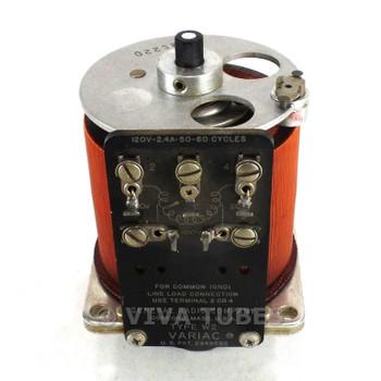 Vintage General Radio Co Type W2 Variac Variable Transformer 120 VAC 2.4 Amps