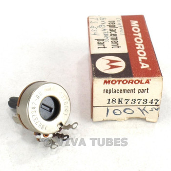 NOS NIB Motorola/CTS Model 18K737347-AU Potentiometer Pot Replacement Part 100K