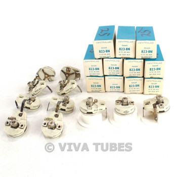 NOS NIB Lot of 11 Centralab B23-BN/N650 Trimmer Potentiometers 10-100 uF 600 VDC