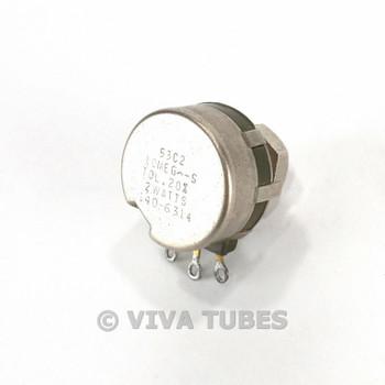 Vintage Clarostat 53C2 Potentiometer 2 Watts 10ME Gohm
