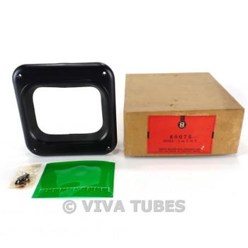 NIB NOS Millen Model 80075 Cathode Ray Tube or Meter Face Bezel W/Instructions