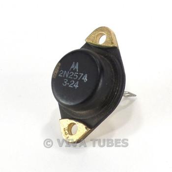 Vintage Motorola Model 2N2574 Power Transistor