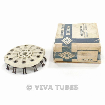 NOS NIB Centralab SSD Rotary Switch Section Wafers 3 POL 3 POS Non-Shorting