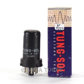 True NOS NIB Vintage Tung-Sol USA 6SS7 Metal Vacuum Tube 100+%