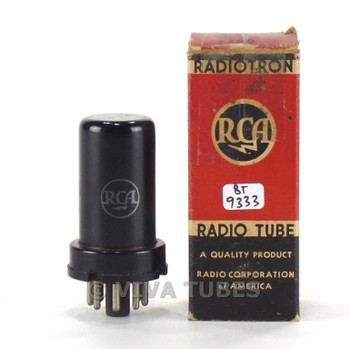 True NOS NIB RCA USA 6ST7 Metal Vacuum Tube 100+%