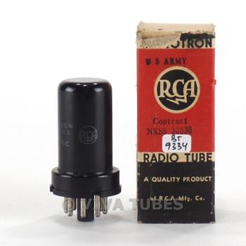 True NOS NIB RCA USA JAN-6ST7 / VT-205 Metal Vacuum Tube 100+%