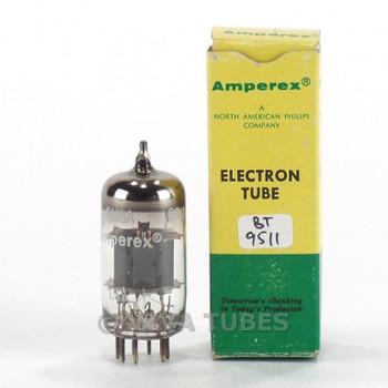 True NOS NIB Amperex USA 6U8A [6GH8] Grey Plate O Get Vacuum Tube 100+%