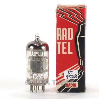 True NOS NIB Rad-Tel USA 6U8A [6GH8] Black Plate O Get Vacuum Tube 100+%