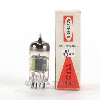 True NOS NIB Raytheon Japan 6U8A/6KD8 Grey Plate O Get Vacuum Tube 100+%