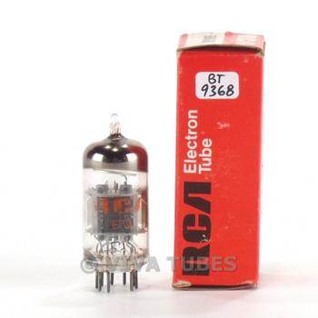 Tests NOS RCA USA 6U8A/6KD8 Grey Plate O Get Vacuum Tube 100+%