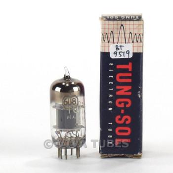 True NOS NIB Tung-Sol (Vintage) USA 6U8 [6GH8] Grey Plate Fat D Get Tube