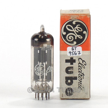 True NOS NIB Mullard Great Britain 6V4/EZ80 Grey Plate [] Get Blackburn Tube