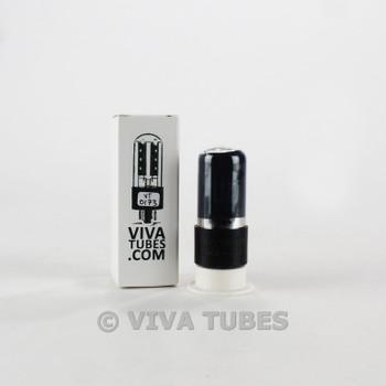 Tests NOS Sylvania USA 6V6GT Black Plate Foil D Get Smoked Lef Logo Vacuum Tube