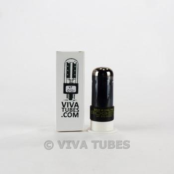 Tests NOS Sylvania USA 6V6GT Black Plate O Get Smoked Vacuum Tube 100+%