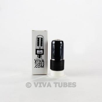 Tests NOS Sylvania USA 6V6GT Grey Plate Foil D Get Smoked Vacuum Tube 100+%