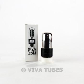 Tests NOS Sylvania USA 6V6GT Grey Plate Foil Get Smoked Vacuum Tube 100+%