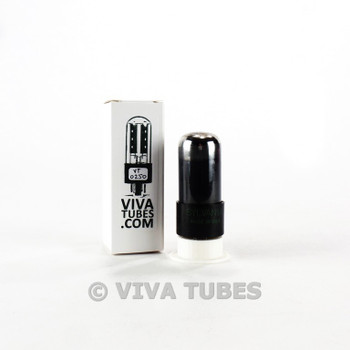 Tests NOS Sylvania US 6V6GT Grey Plate Foil Get Smoked Vacuum Tube 100+%