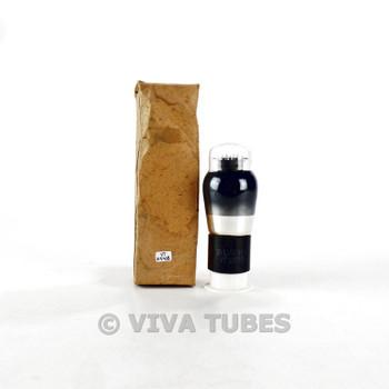 True NOS NIB Sylvania USA VT-107B/6V6G Black Plate Smoked Vacuum Tube 100+%
