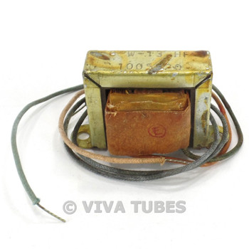 Vintage 6-W-13HF Output Transformer For Tube Audio Watts 50 mA