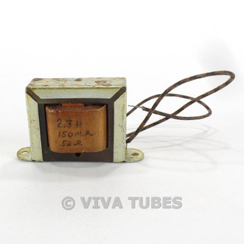 Vintage 6X17 Filter Filter Choke Transformer 2.3H 150 mA 60 ohm