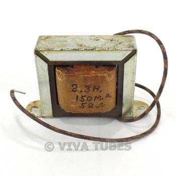 Vintage 6X17 Filter Filter Choke Transformer 2.3 Henry 150 mA 60 ohm