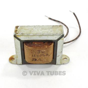 Vintage 6X17 Filter Filter Choke Transformer 2.3 H 150 mA 60 ohm